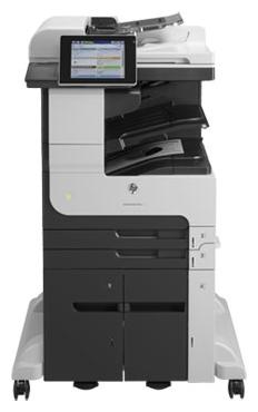 HP LaserJet Enterprise 700 M725z - ((принтер/сканер/копир/факс); A3; черно-белая; печать 41 стр/мин (ч/б А4); двухсторонняя печать есть • Печать на: карточках, пленках, этикетках, глянцевой бумаге, конвертах, матовой бумаге)