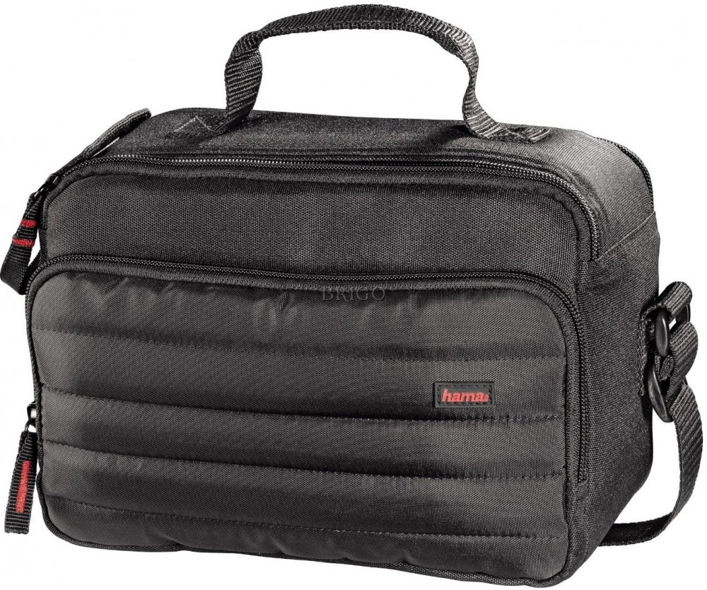 Сумка для фотокамеры Hama Syscase 110, black, политекс, ручка для переноски, плечевой ремень 00103835