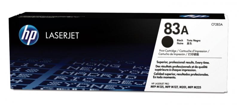 Картридж лазерный HP 83A black CF283A
