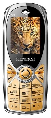 Keneksi Q3 Gold - (1.77 дюйм., 160x128, кол-во SIM-карт: 2, фотокамера: 0.10 млн пикс., встроенная вспышка)