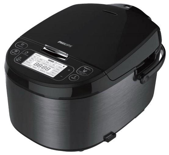 Philips HD3197/03 - (Объем 5 л; 900 Вт; управление электронное • автопрограммы 23, включая: выпечка, каша, крупа, тушение, приготовление на пару, плов, жарка, йогурт, паста)