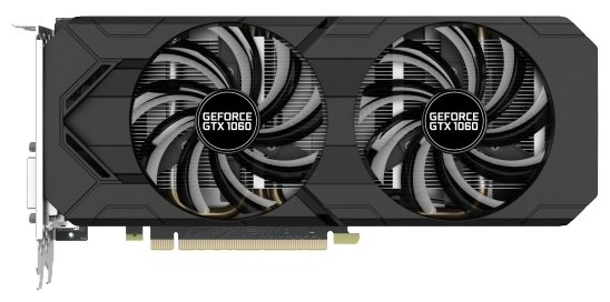 ���������� Gainward GeForce GTX 1060 1506Mhz PCI-E 3.0 3072Mb 8000Mhz 192 bit DVI HDMI HDCP (426018336-3798)