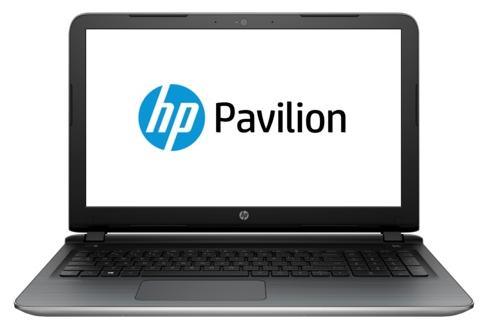 HP Pavilion 15-ab104ur (N9S82EA) silver - (A6 6310 1800 МГц. Экран 15.6 дюймов, 1920x1080, широкоформатный TFT IPS. ОЗУ 4 Гб DDR3L. Накопители HDD 500 Гб; DVD-RW, внутренний. GPU AMD Radeon R7 M360. ОС)