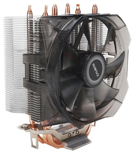 Zalman CNPS8X Optima - для процессора; вентиляторов 1 (100x100x25 мм); 1200 - 2100 об/мин; радиатор - алюминий, медь • S775, S1150