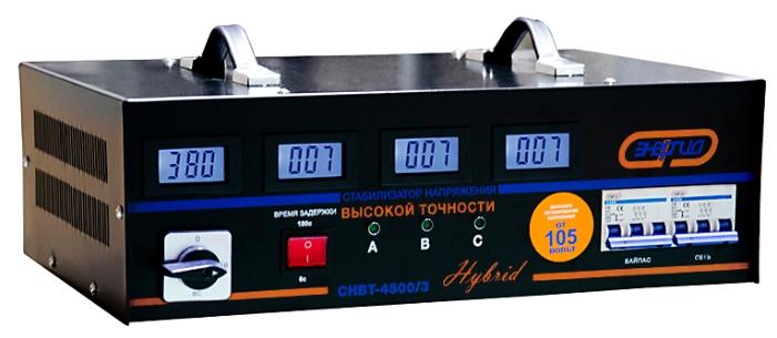 Стабилизатор напряжения Энергия Hybrid СНВТ-4500/3 Нybrid СНВТ-4 500/3