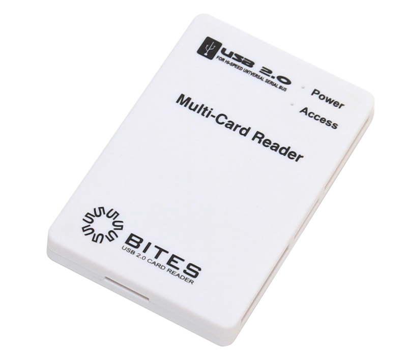 Картридер 5bites RE2-101WH USB2.0 White