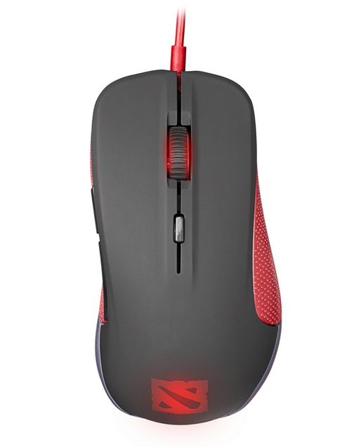 ���� SteelSeries Rival Optical Mouse Black USB, Dota 2 edition 62273