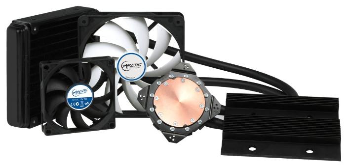 СВО Arctic Cooling Accelero Hybrid III-120, nVidia GTX 1080/1070/980 Ti/Titan X/980/780/780Ti/Titan/Titan Black/770/970/960/760/680