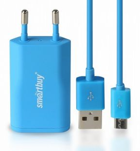 Зарядное устройство SmartBuy SATELLITE Combo Blue SBP-2750