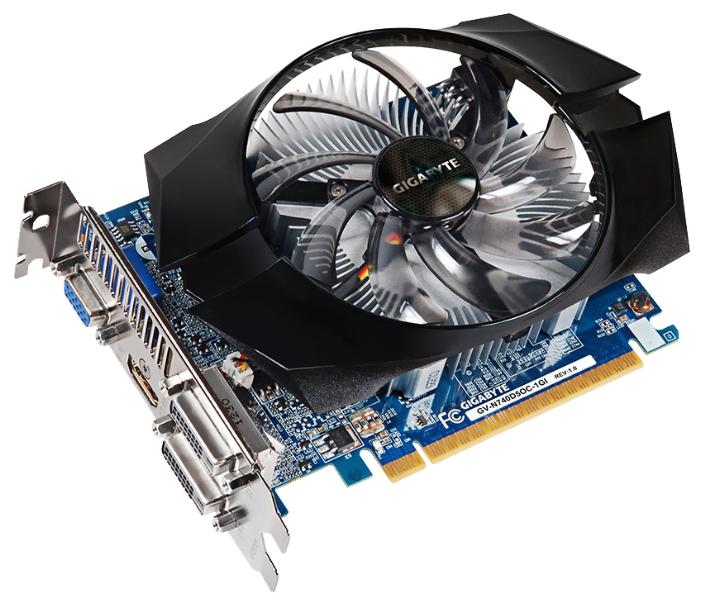Видеокарта GIGABYTE GeForce GT 740 1072Mhz PCI-E 3.0 1024Mb GV-N740D5OC-1GI