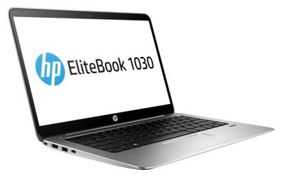 HP EliteBook 1030 G1 (X2F06EA) - (Intel Core m5 6Y54 1100 МГц. Экран 13.3 дюймов, 1920x1080, широкоформатный. ОЗУ 8 Гб LPDDR3 1866 МГц. Накопители SSD 512 Гб; DVD нет. GPU Intel HD Graphics 515. ОС Win 10 Pro)