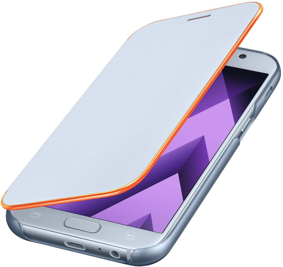 Чехол-книжка Samsung для Samsung Galaxy A5 (2017) Neon Flip Cover, blue