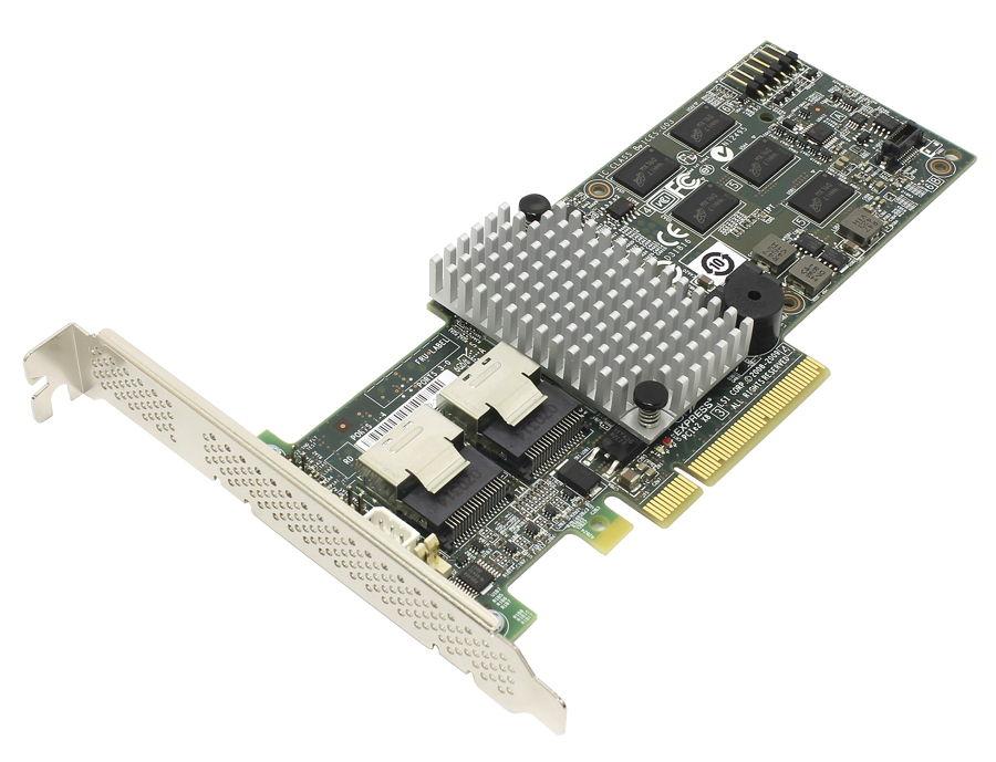 RAID-контроллер LSI Logic MegaRAID 9260-8i (SAS / SATA), SGL LSI00198