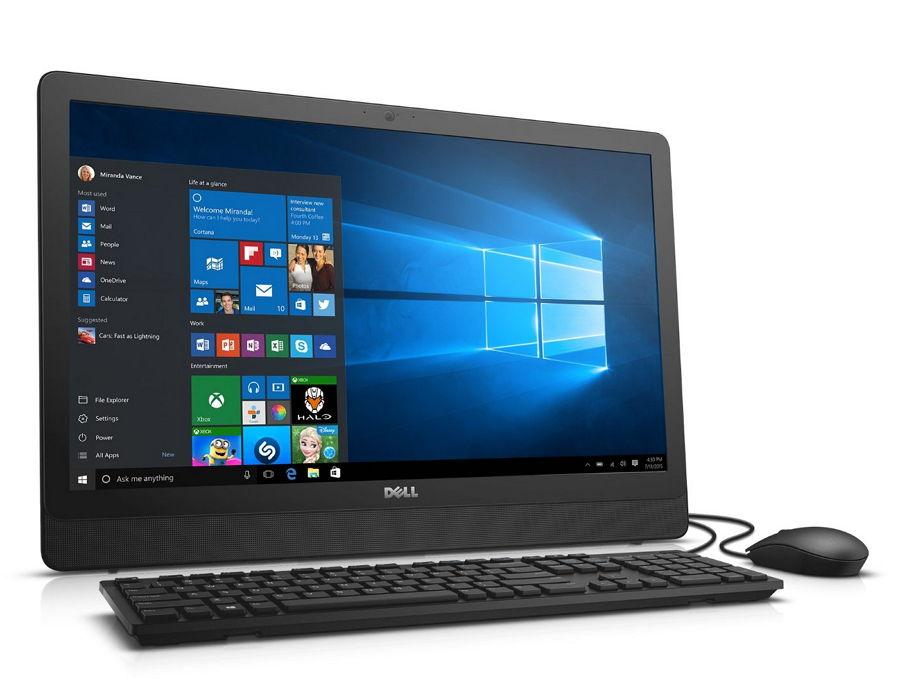 DELL Inspiron 3459-1714 - (Intel Core i3-6100U / 2.30 ГГц; 4 Гб; 1000 Гб; ODD - DVD-RW • Экран 23.8'' 1920x1080; Intel HD Graphics 4400 • LAN 10-1000 Мбит/с; Wi-Fi 802.11 b/g/n; Bluetooth 4.0 • MS Windows 10 Professional (64-bit), версия для одного языка)