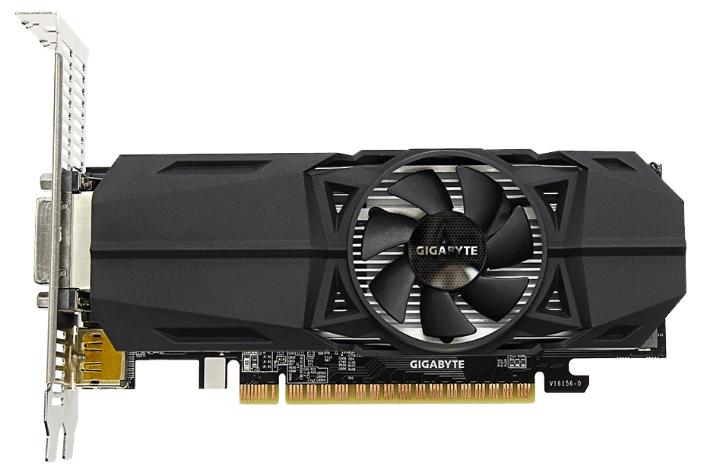 Видеокарта Gigabyte GeForce GTX 1050 1392Mhz 2048Mb 7008Mhz GDDR5 128 bit GV-N1050OC-2GL