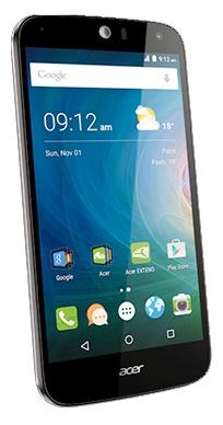 Acer Liquid Z630, Black /HM.HQEEU.002/ - (Android 5.1; GSM 900/1800/1900, 3G, 4G LTE; SIM-карт 2; MediaTek MT6735, 1300 МГц; RAM 2 Гб; ROM 16 Гб; 4000 мА?ч; 8 млн пикс., светодиодная вспышка; есть, 8 млн пикс.; датчики - освещенности, приближения)