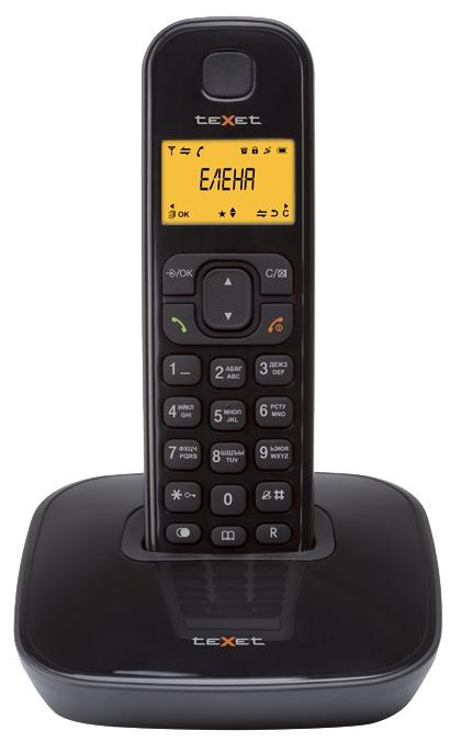 Радиотелефон DECT TeXet TX-D6705A Black