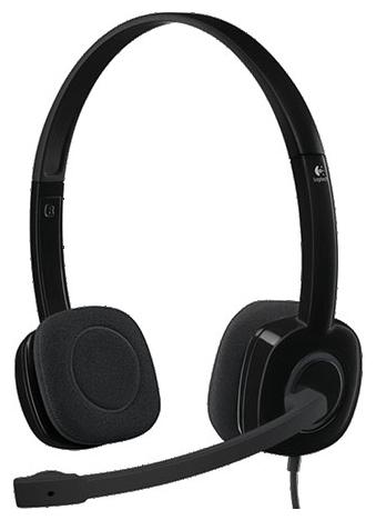 Гарнитура Logitech Stereo Headset H151