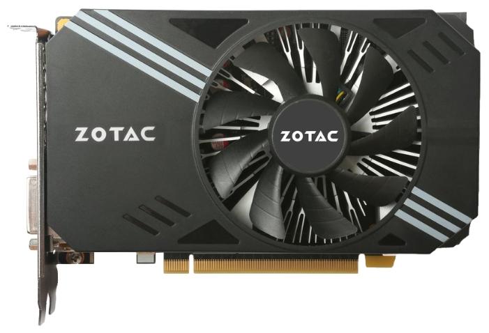 ���������� Zotac GeForce GTX 1060 1506Mhz PCI-E 3.0 6144Mb 8000Mhz 192 bit DVI HDMI HDCP ZT-P10600A-10L
