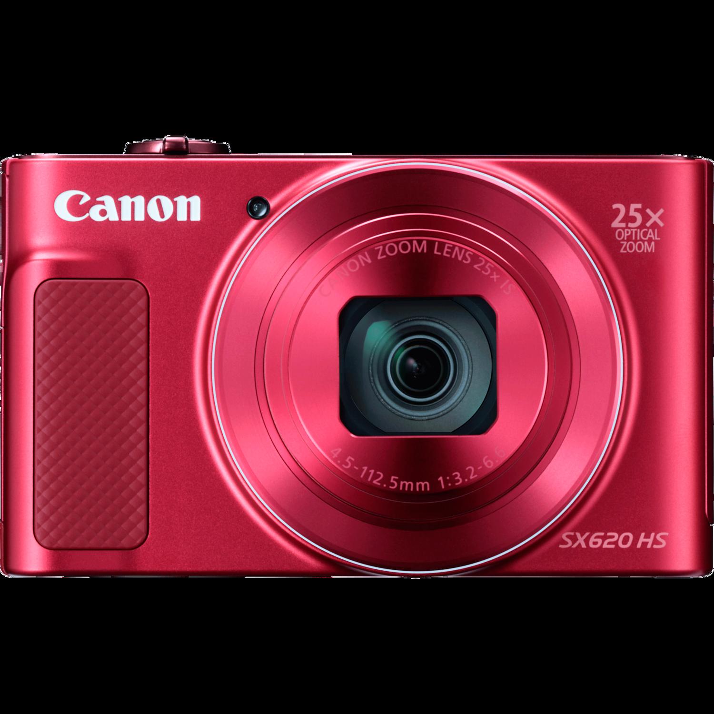 Canon PowerShot SX620 HS red - (21.1 млн, оптический zoom: 25x, 1920x1080, 2.5 кадр./сек, 922000 точек, 3 дюйма)