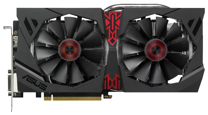 Видеокарта ASUS Radeon R9 380 990Mhz PCI-E 3.0 4096Mb 5500Mhz 256 bit 2xDVI HDMI HDCP STRIX-R9380-DC2OC-4GD5-GA