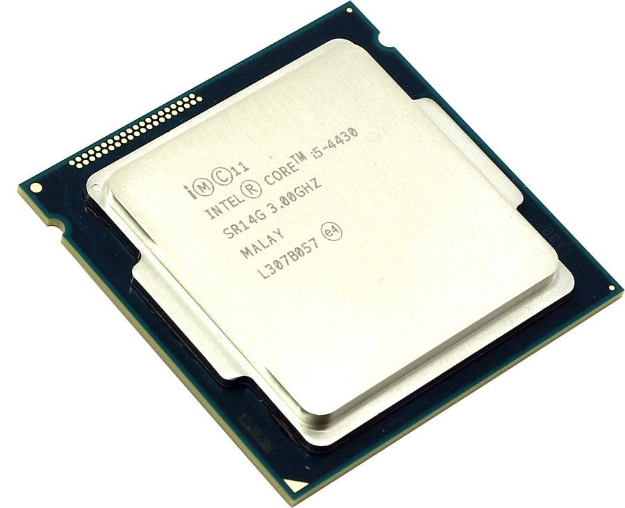 Intel Core i5-4430 Haswell (3000MHz, LGA1150, L3 6144Kb), OEM - LGA1150; Haswell; ядер 4; 22 нм; 3000 МГц; L1 64 Кб; L2 1024 Кб; L3