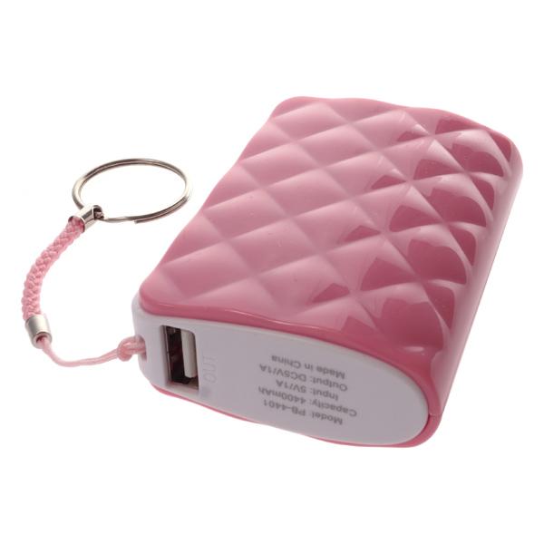 Аккумуляторная батарея Harper PB-4401 Pink (4400 mAh)