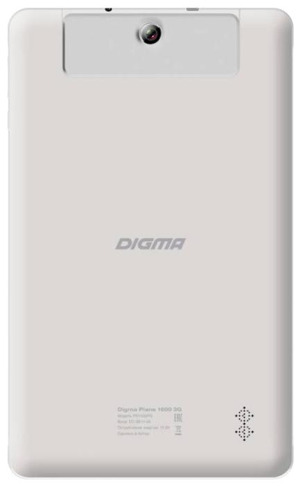 "������� Digma Plane 1600 10.1"" 1/8GB 3G ����� PS1036PG W"