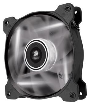 Corsair CO-9050030-WW SP120 LED White 120mm Fan (2шт) - 120x120x25 мм; вентиляторов 2; 1650 об/мин; 3-pin; 26.4 дБ; подсветка - белый