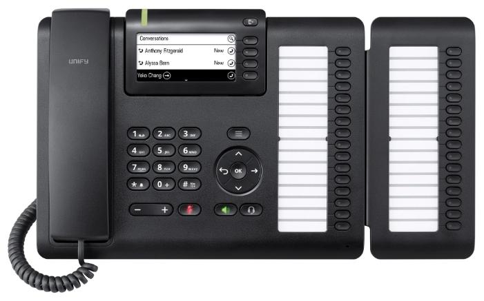 VoIP-телефон Siemens OpenScape CP400, LAN, Gigabit LAN, есть определитель номера L30250-F600-C427