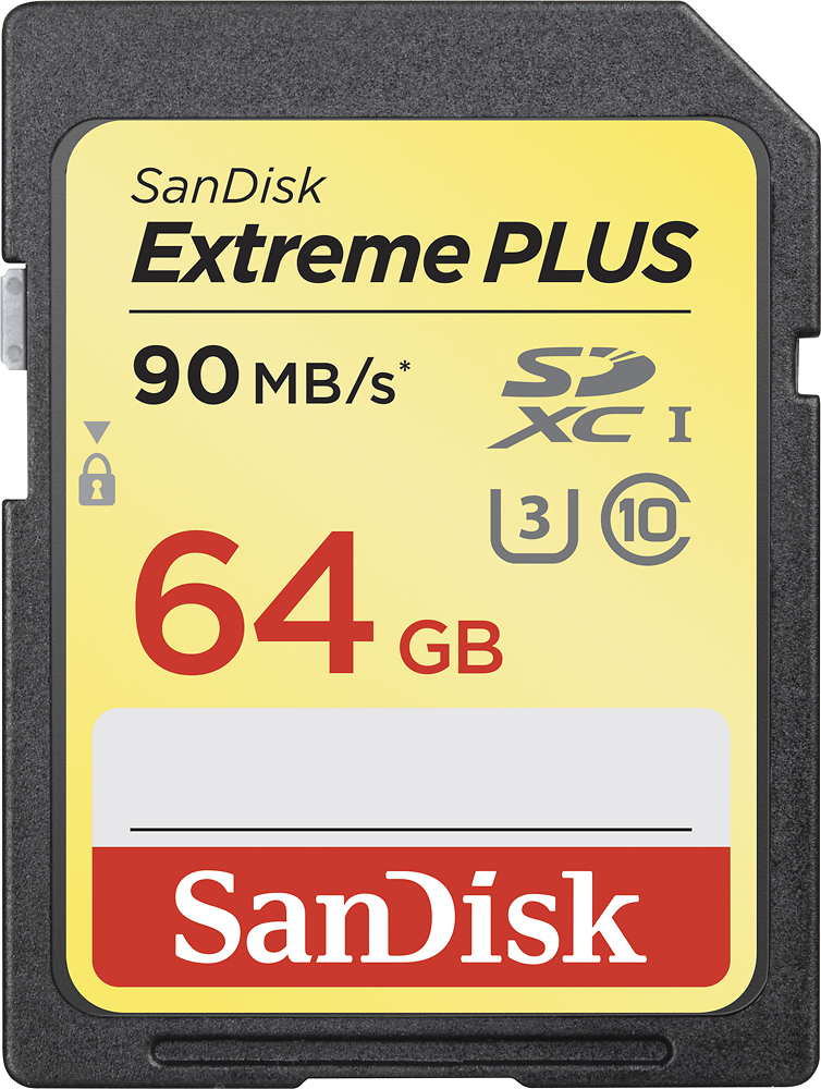 SanDisk SDXC 64Gb Class 10 UHS-I U3 Extreme 90Mb/s