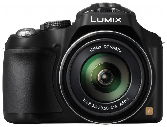 Panasonic Lumix DMC-FZ72, Black - (16.8 млн, оптический zoom: 60x, 1920x1080, 9 кадр./сек, 460000 точек, 3 дюйма)