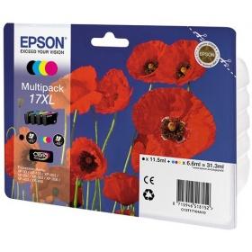Картридж струйный Epson 17XL, color (4 цвета)