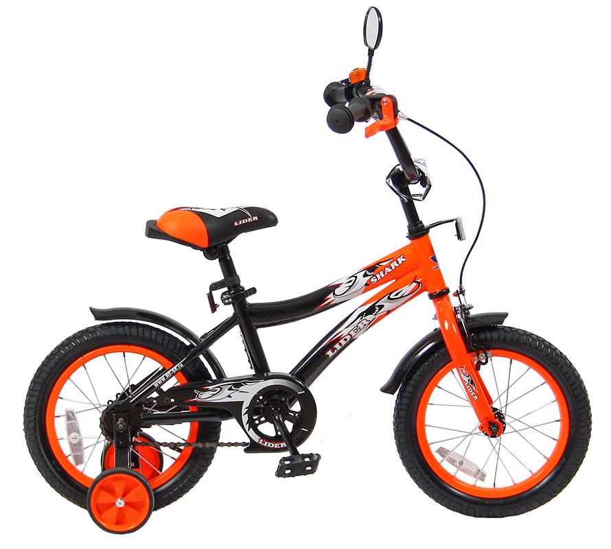 Velolider Lider Shark 14, orange/black