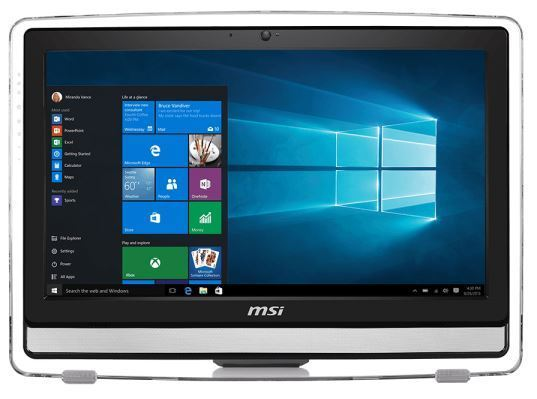"MSI Pro 22E 6NC-024RU (9S6-AC1711-024), Black - (Intel Core i3-6100 / 3.70 ГГц; 4 Гб; 1000 Гб; ODD - DVD±RW Super-Multi • Экран 21.5"" 1920x1080; NVIDIA GeForce 930M • LAN 10-1000 Мбит/с; Wi-Fi 802.11 b/g/n • MS Windows 10)"