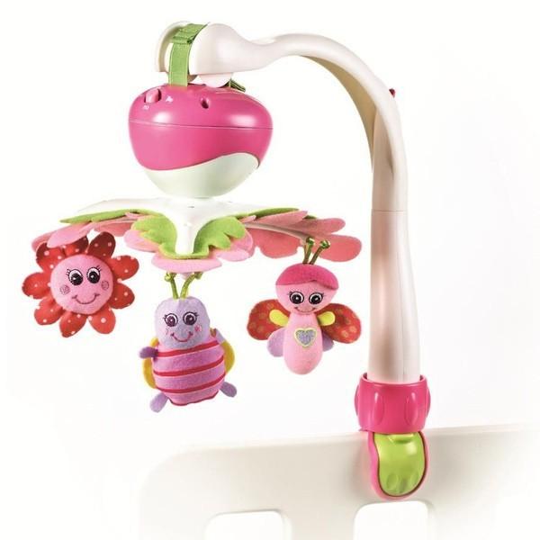 Tiny Love Мобиль Моя принцесса - Развивающая игрушка со звуковыми эффектами • Для развития у ребенка слухового, зрительного и тактильного