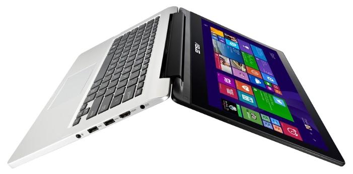 ASUS Transformer Book Flip TP300LD-DW068H - (Intel Core i5 4210U 1700 МГц. Экран 13.3 дюймов, 1920x1080, широкоформатный, сенсорный, мультитач. ОЗУ 6 Гб DDR3L 1600 МГц. Накопители HDD 1000 Гб; DVD нет. GPU NVIDIA GeForce 820M. ОС MS Windows 8.1 (64 bit))