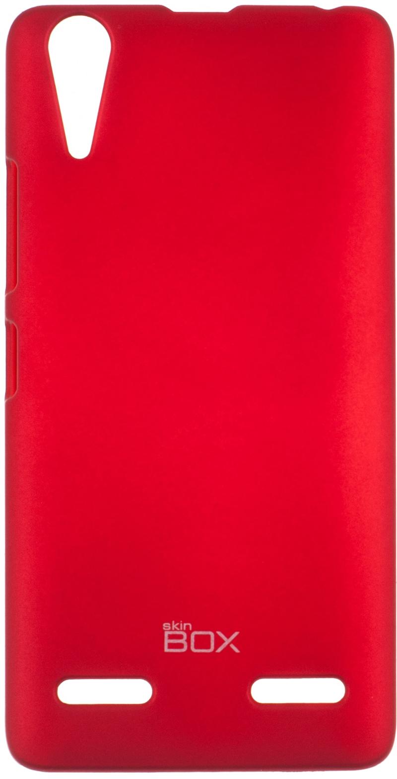 �������� SkinBox ��� Lenovo A6000/6010 P-S-LA6000-002 Red + �������� ������