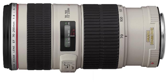 Фотообъектив Canon EF 70-200mm f/4L IS USM (1258B005)