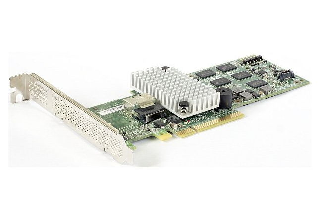 RAID-контроллер LSI Logic MegaRAID SAS 9250-4i SGL (LSI00459)