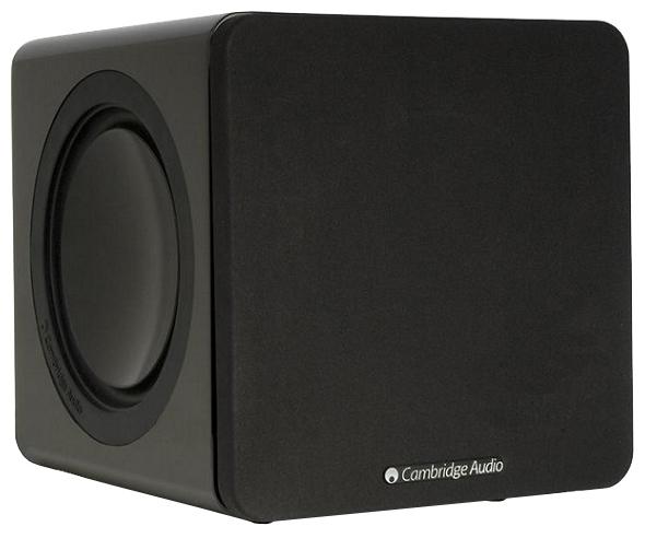Cambridge Audio Minx X201, black - (напольная, активная, с пассивным излучателем; сабвуфер (1 громкоговоритель); полос 1; 36-200 Гц (-6 дБ) ; мощность 200 Вт)