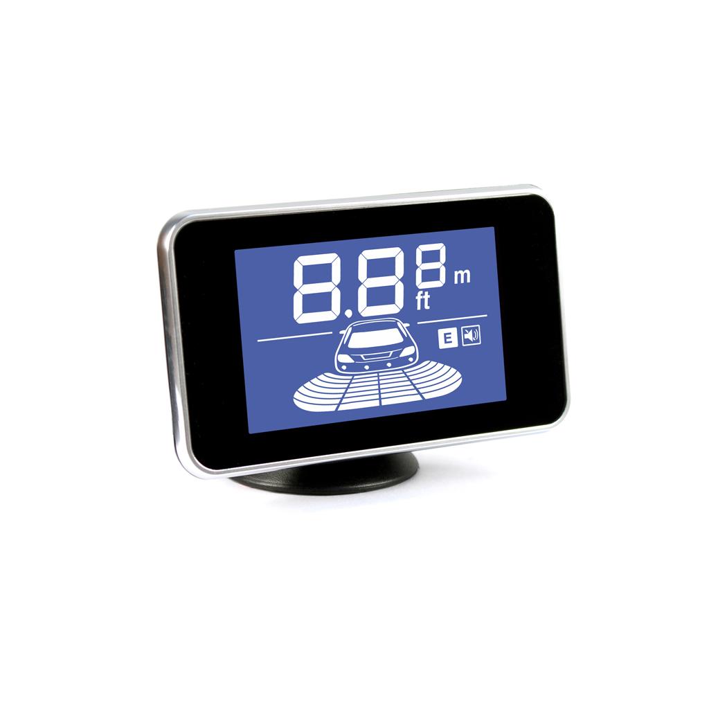 Parkmaster 39-4-A silver - Экран LCD; точность 10 см; 4 датчика • Расстояние: 2.5 м … 0.3 м PARK_MASTER_39-4-A_SL