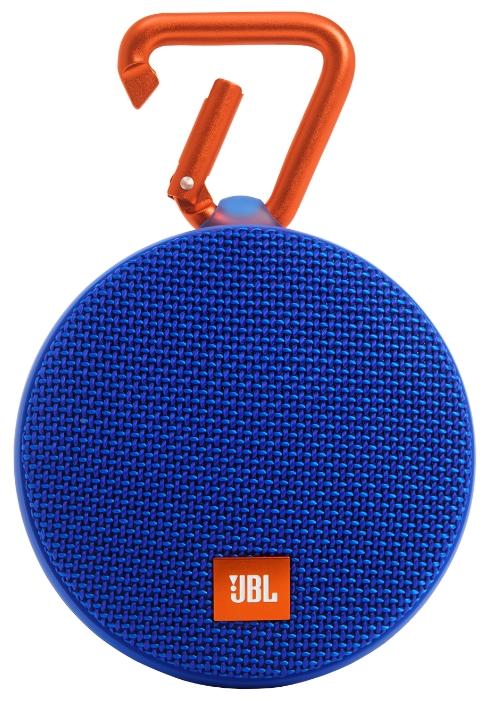 Портативная АС JBL Clip 2 blue JBLCLIP2BLUE