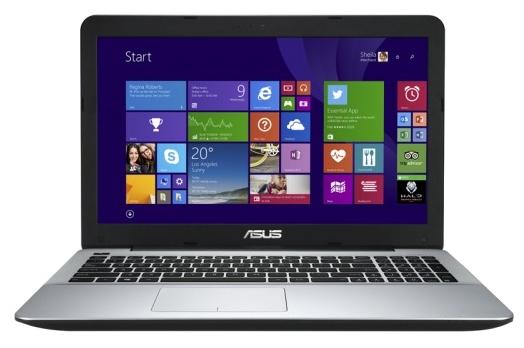 ASUS K555LD-XO328H - (Core i3 4030U 1900 МГц. Экран 15.6 дюймов, 1366x768, широкоформатный. ОЗУ 6 Гб DDR3 1600 МГц. Накопители HDD 500 Гб; DVD-RW, внутренний. GPU NVIDIA GeForce 820M. ОС Win 8 64)