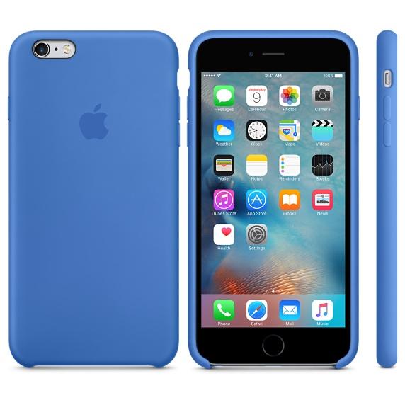 Apple для Apple iPhone 6S Plus MM6E2ZM/A , Blue - (для iPhone Apple 6; силикон)