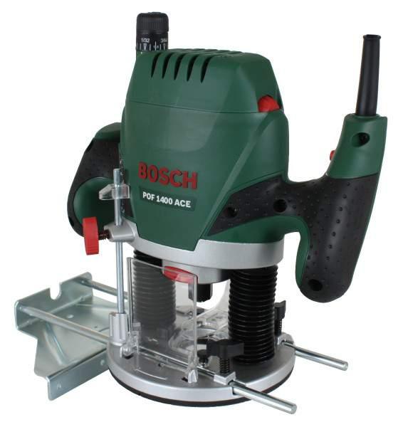 Bosch POF 1400 ACE [0.603.26C.820] - (ручной, универсальный; 1400 Вт / 650 Вт; 11000 - 28000 об/мин; глубина 55 мм • Патрон(ы) - 3, цанговые, 6 и 8 мм и 1/4 дюйма)