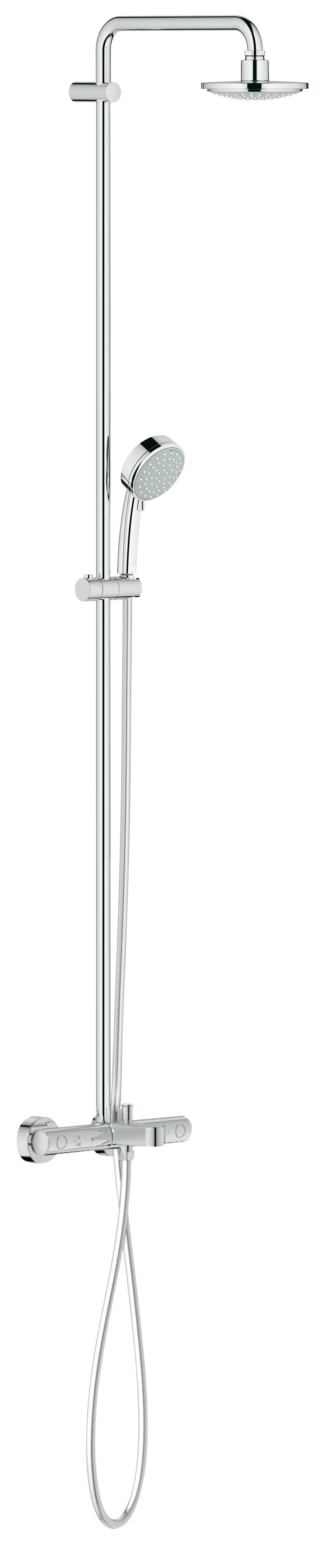 Grohe 26223000 Tempesta Cosmopolitan 160 с верхним и ручным душем, хром