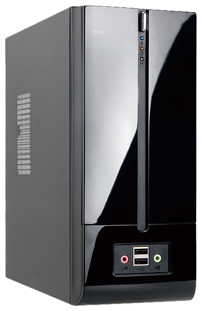 Корпус для компьютера IN WIN BM639 160W Black BM639BL