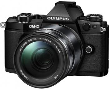 Olympus OM-D E-M5 Mark II 14-150 Kit (EZ-M1415 II), черный - (, 1920x1080, 10 кадр./сек, ЖК-экран: поворотный, 1037000)