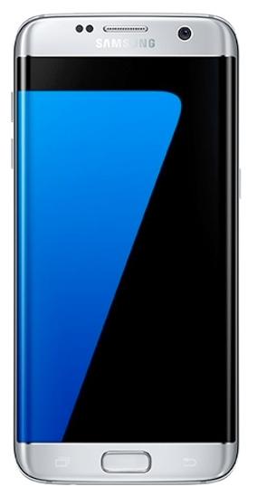 Samsung Galaxy S7 Edge SM-G935 Silver - (; GSM 900/1800/1900, 3G, 4G LTE, LTE-A Cat. 9, VoLTE; SIM-карт 2 (nano SIM); RAM 4 Гб; ROM 32 Гб; 3600 мА?ч; 12 млн пикс., светодиодная вспышка; есть, 5 млн пикс.; датчики - освещенности, приближения, Холла, гироскоп, компас, барометр, считывание отпечатка пальца)